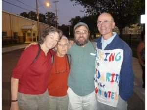 Lois - Jim H - RI protest