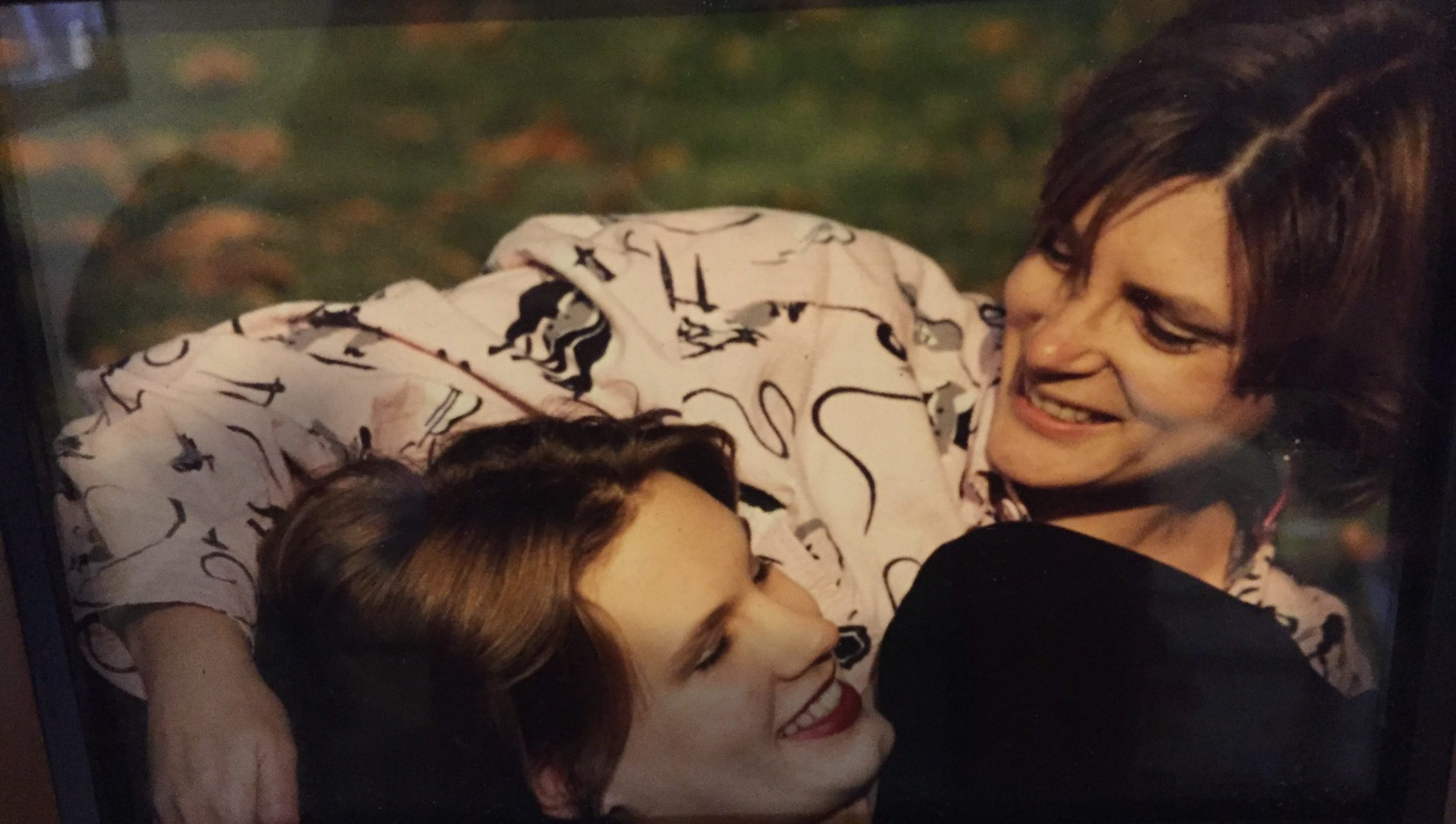 1992 in Paris me and Ariel